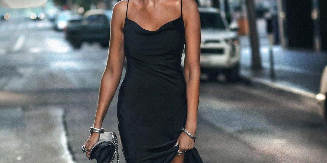 Το σατέν φόρεμα είναι το πιο θηλυκό κομμάτι της γκαρνταρόμπας σου (και το ξέρεις)