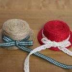 ミニチュア帽子の作り方の動画や画像!材料は?簡単で可愛い!