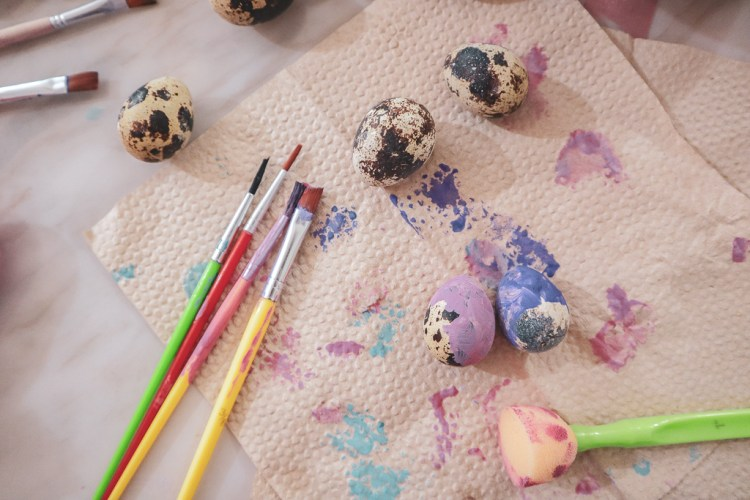 Assorted Paint Brushes for Kids