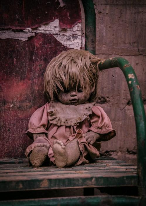 verlassene Puppe