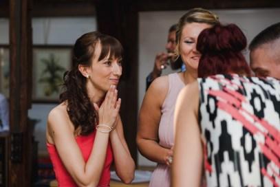 Hochzeit Sektempfang Gäste