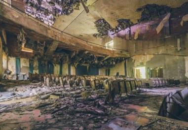 verlassenes Theater