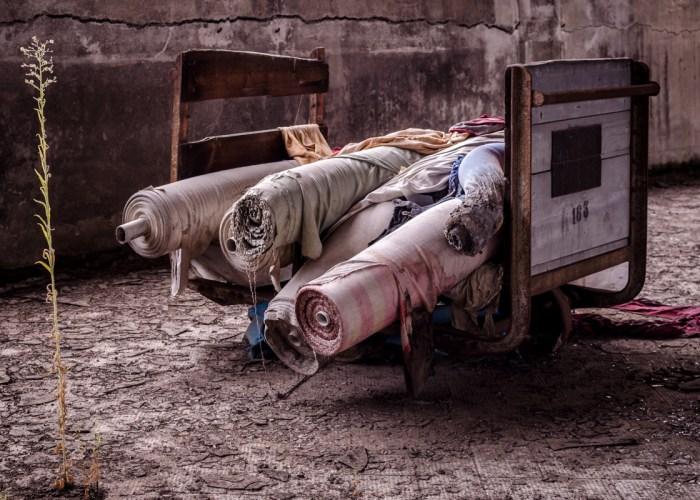 verlassene Stofffabrik