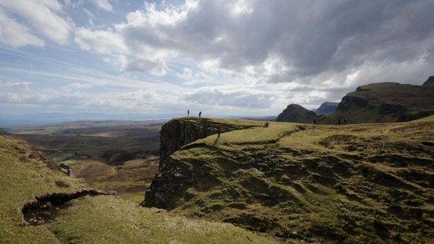 Landschaft Isle of Skye Quiraing