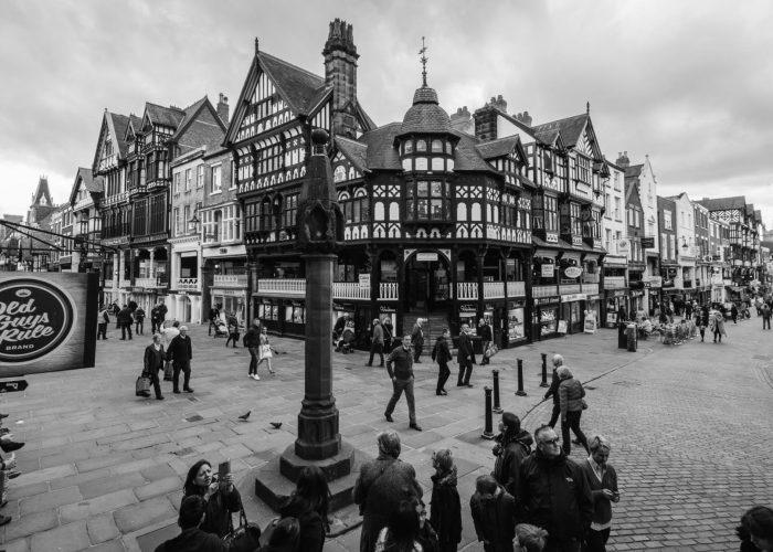 Tudorstil in Chester