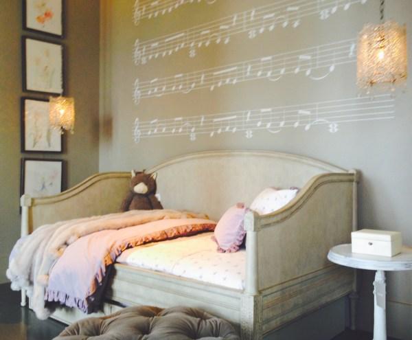 Little girls room, restoration hardware, Elle C. Wolfe Interiors