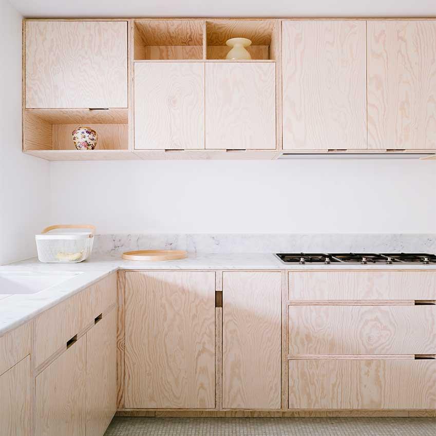 Solutions Plywood Kitchens ELLE Decoration UK