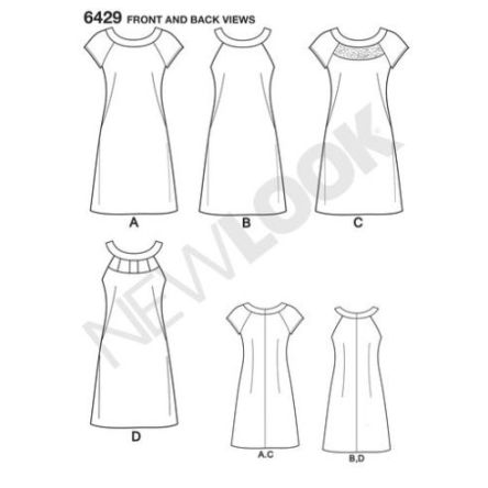 newlook-dresses-pattern-6429-front-back-view