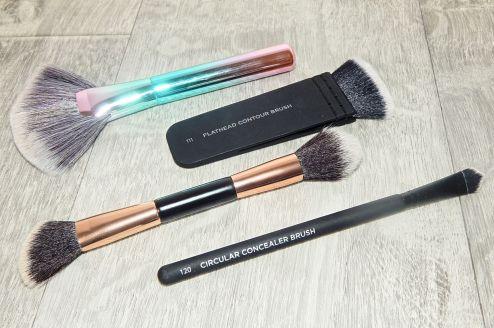 brushes 12
