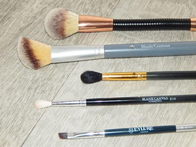 brushes 16