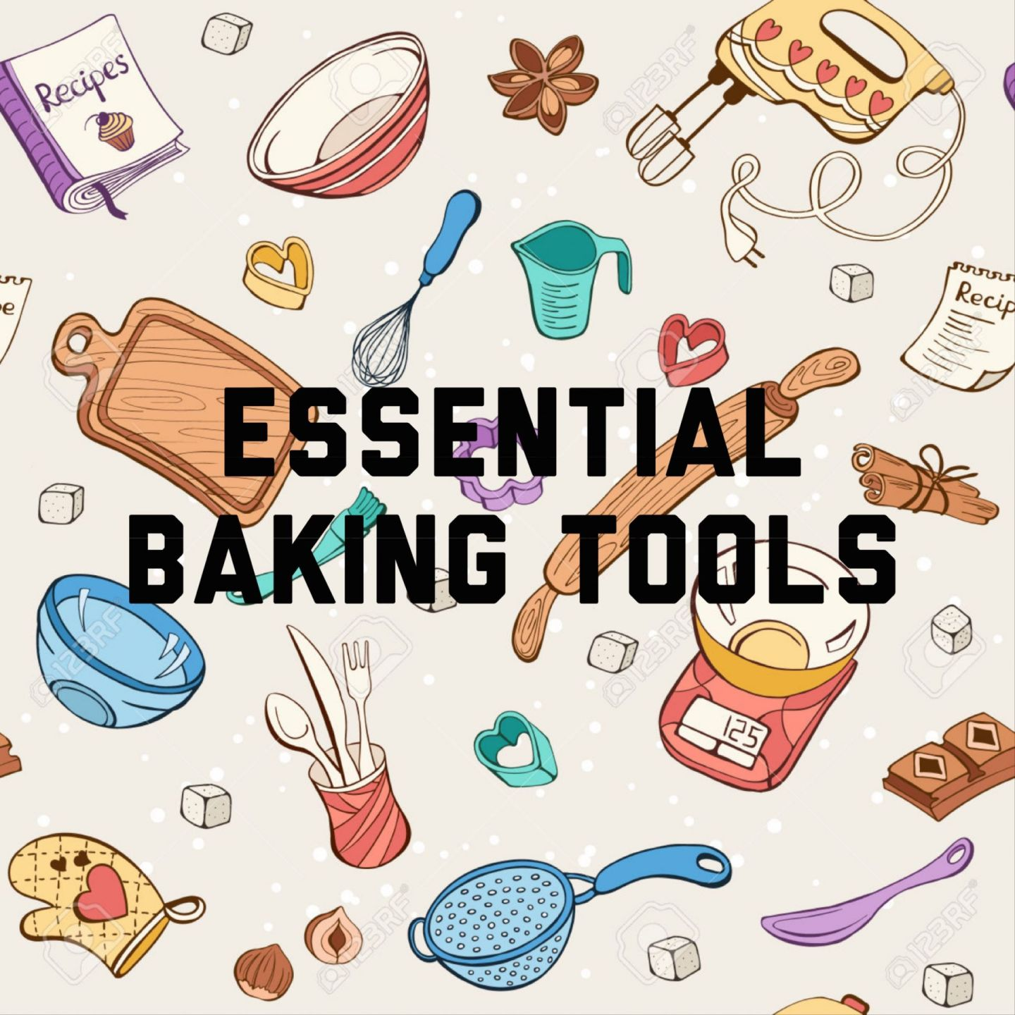 Essential Baking Tools | Baking For Beginners!