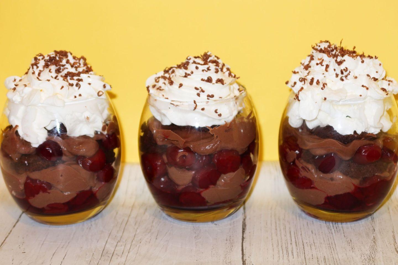Low Calorie Black Forest Desert Recipe!