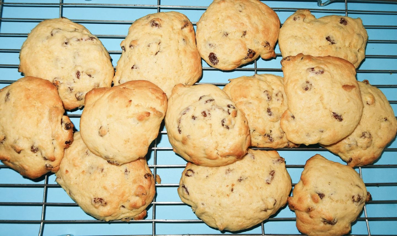 Lemon & Sultanas Cookie Recipe!