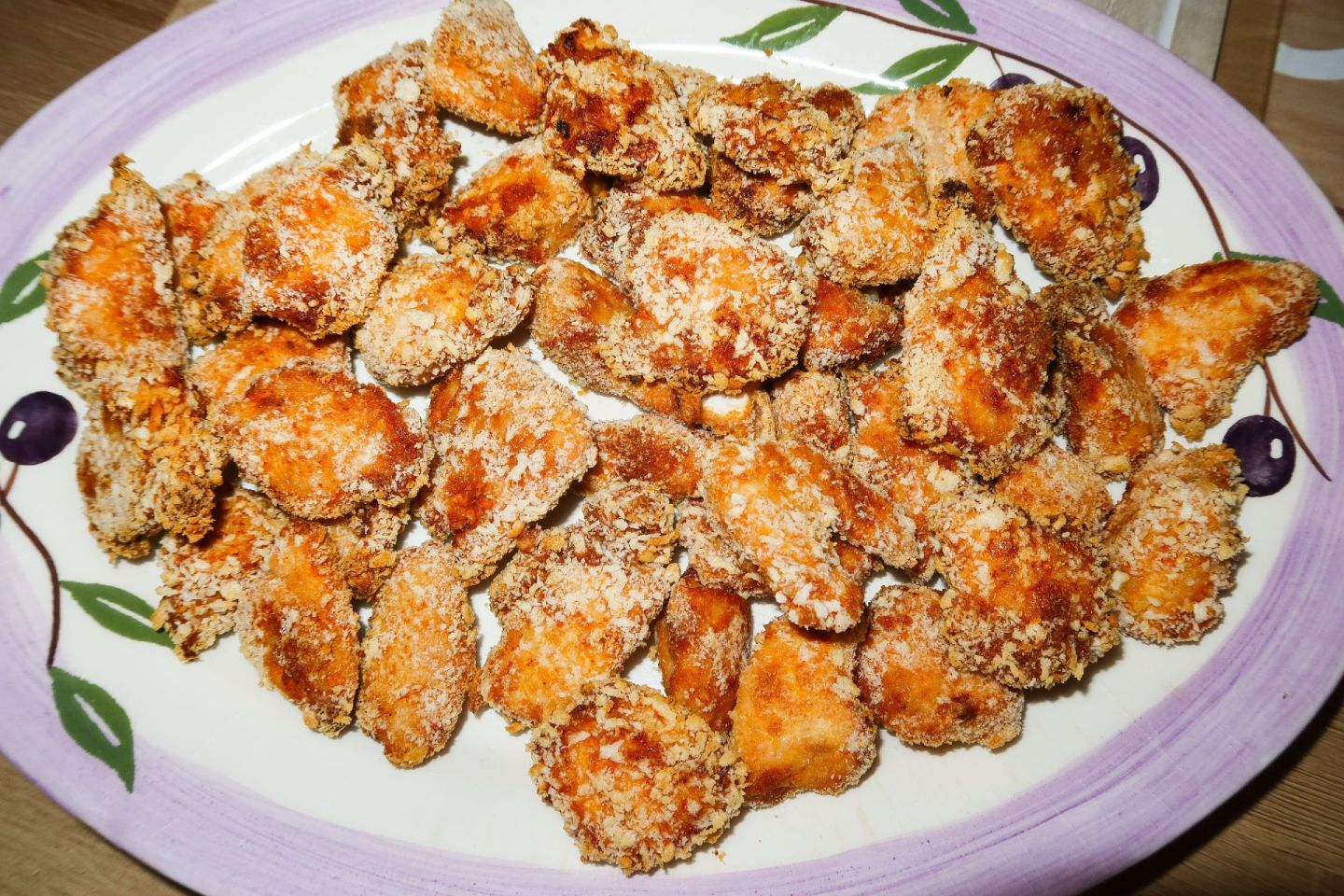 Low Calorie Mexican Chicken Nuggets Recipe!