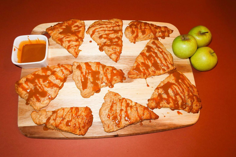 Apple & Caramel Scones Recipe!