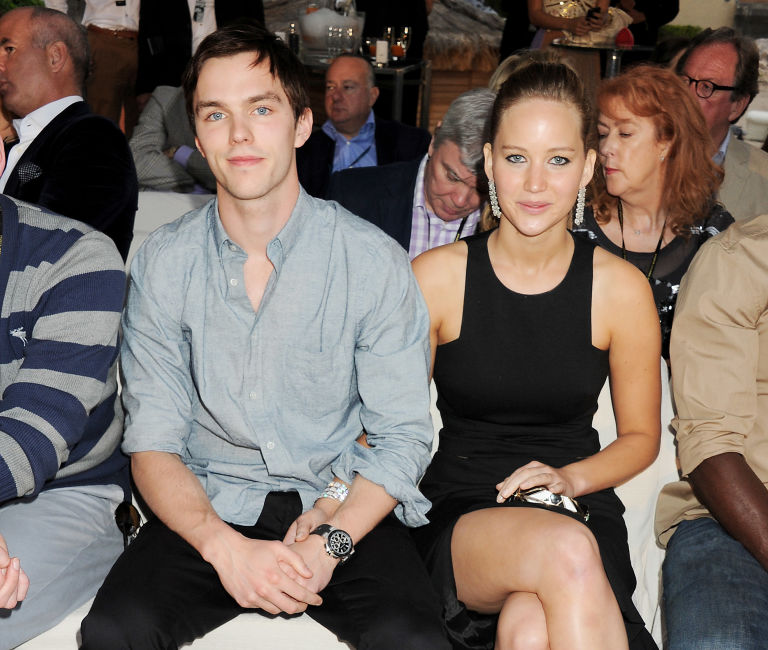 Jennifer Lawrence and then-boyfriend Nicholas Holt | ELLE UK