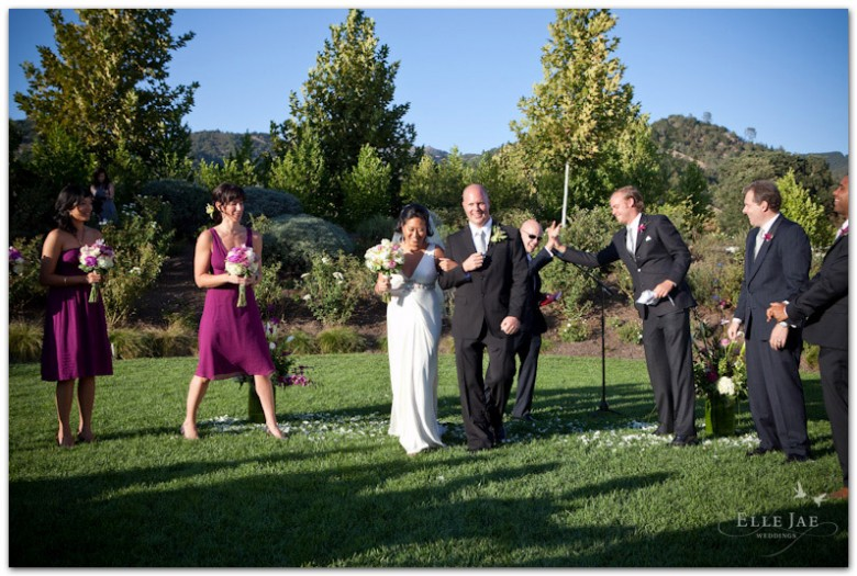 Solage Wedding Napa