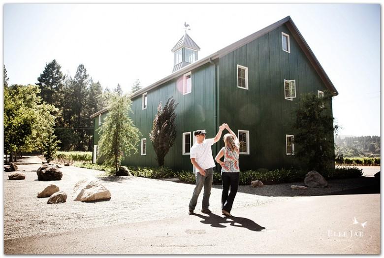 Lauren & Mark's Engagement Photos, San Francisco & Beaulieu Garden