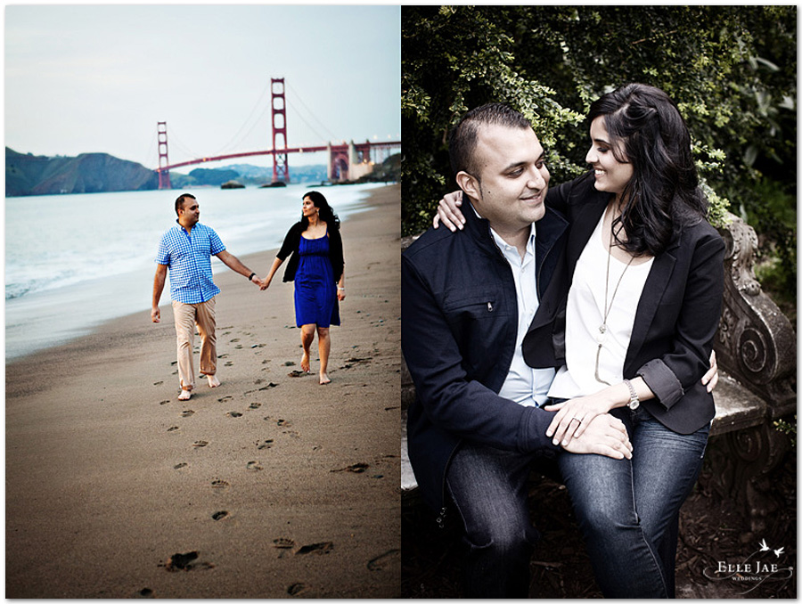 San Francisco Engagement Photography by Elle Jae