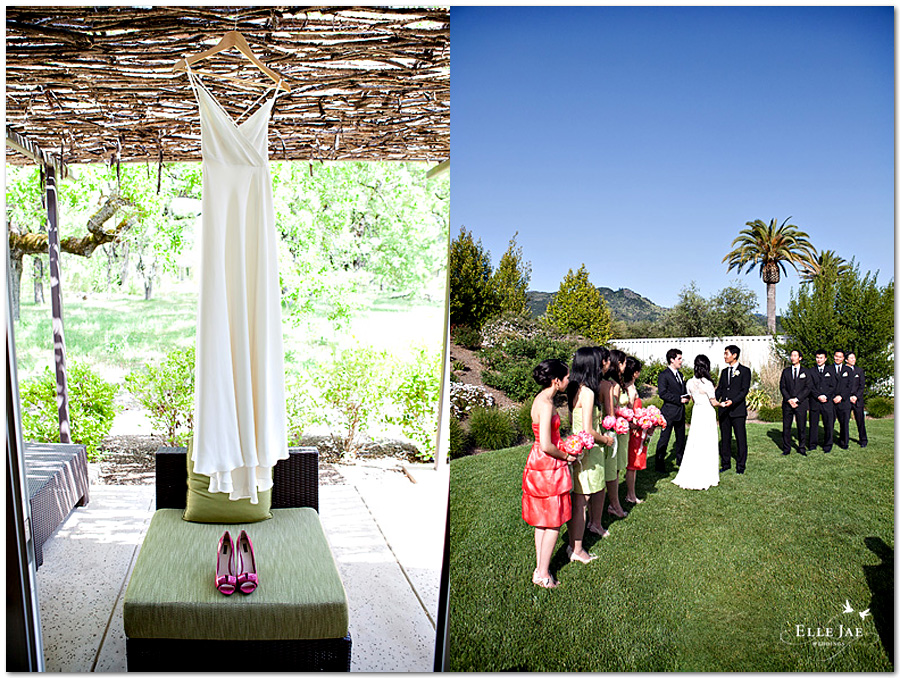 Solage Wedding Photography Calistoga Napa by Elle Jae