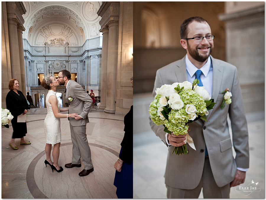 San Francisco City Hall Wedding by Elle Jae