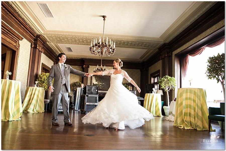 Presidio club wedding