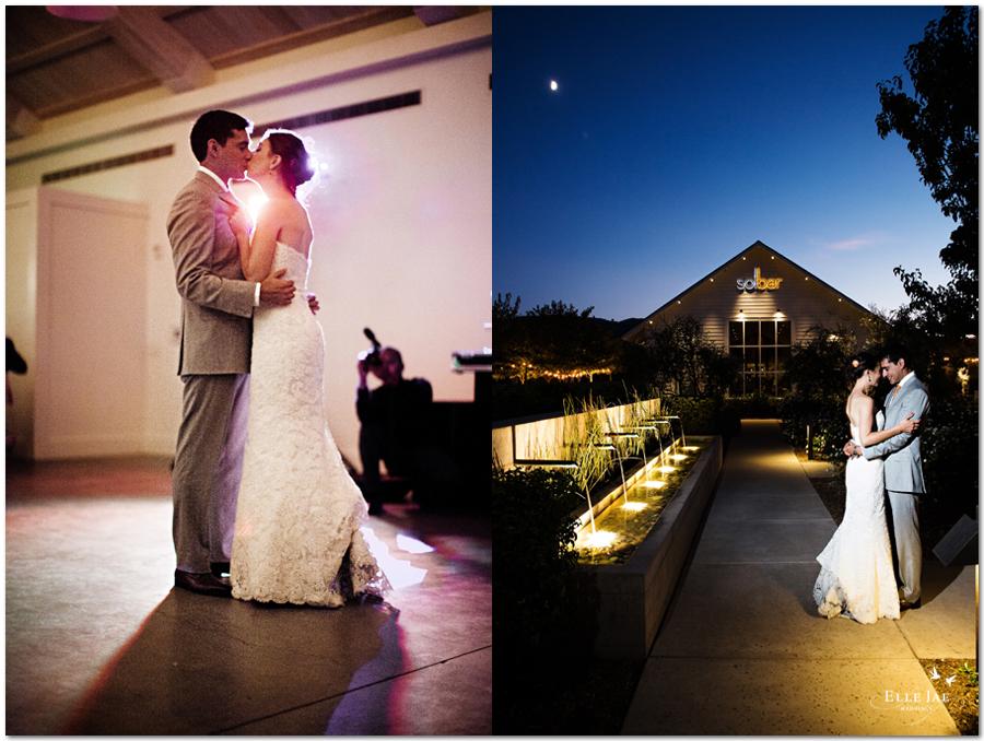 Solage Calistoga Wedding
