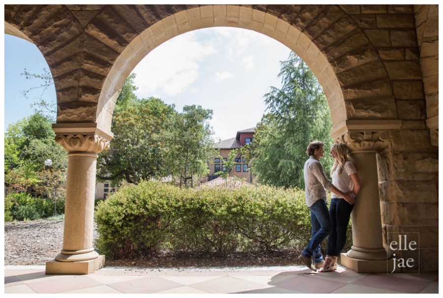 Stanford and San Francisco Engagement Photos