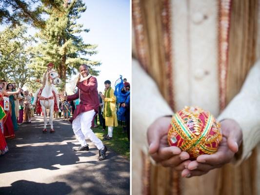 indian wedding barat napa