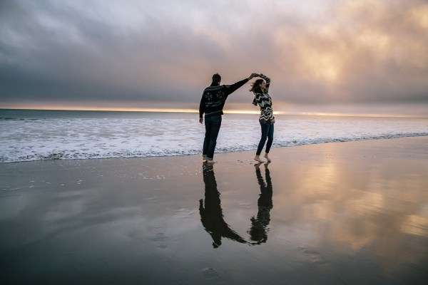 pt reyes engagement beach 2