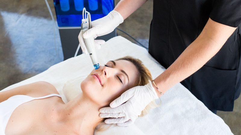 Ellemes Medical Spa Atlanta Hydrafacial treatment