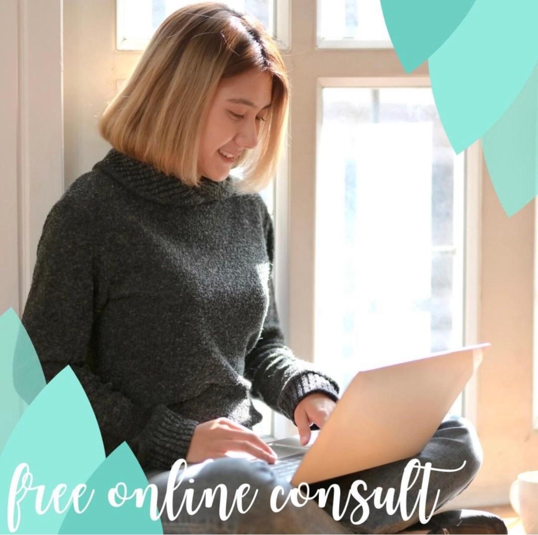 Free virtual skincare consultation