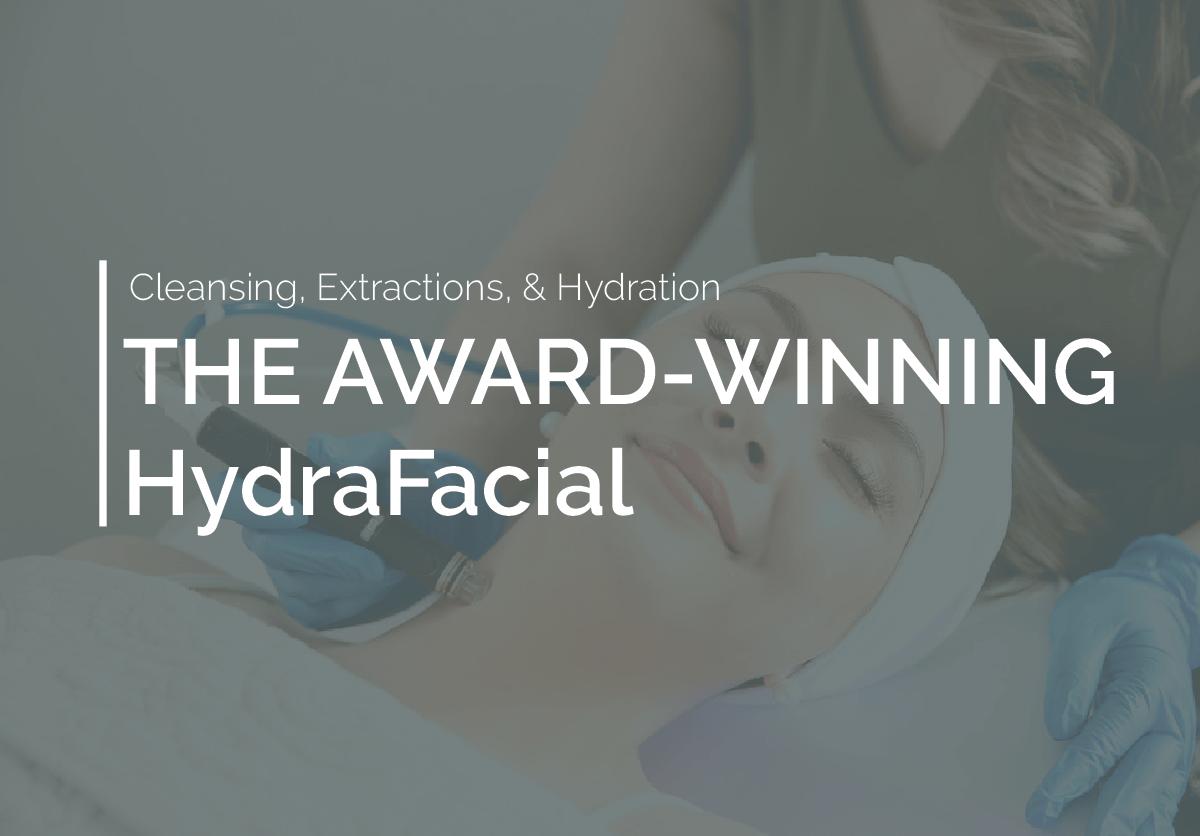 award winning hydrafacial book now
