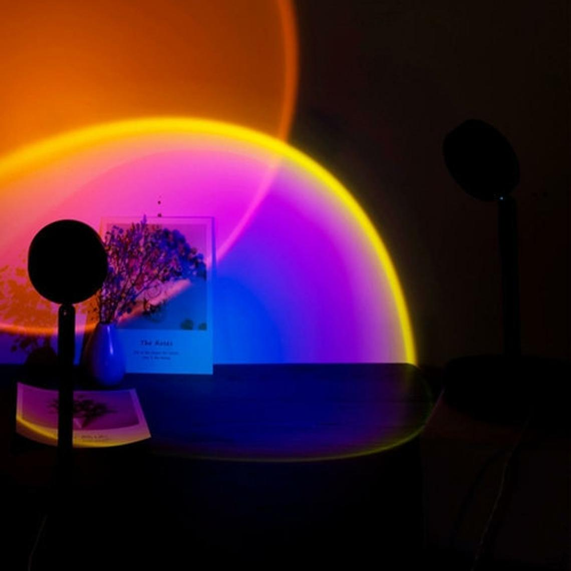 sunset projection lamps elle muse