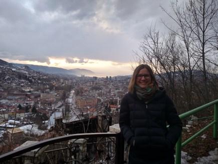 Overlook in Sarajevo