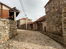 Dranoc, Kosovo: an old village made up of mostly stone buildings that date back many centuries