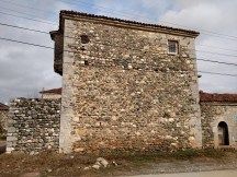 Dranoc, Kosovo: an old village made up of mostly stone buildings that date back many centuries. The bottom level housed cows, the middle level housed women, and the top level housed men.