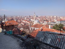 View of Prizren from the climb to the fortress