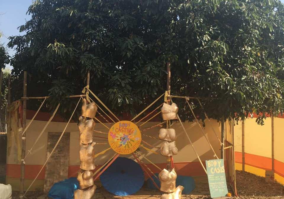 Body Casting at Jai Thep Festival