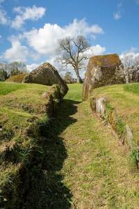 Lough Gur stone circle – entrance.