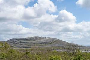 Mullaghmore mountain, the Burren.