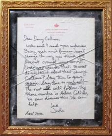Danny- broken John Lennon letter