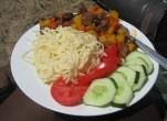 chickpea dinner
