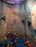 Climbing indoors