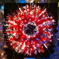 A wreath at Festival of Trees