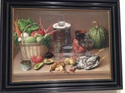 Such a realistic still life painting!