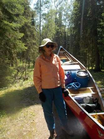 """""""Lisa"""" after the portage"""