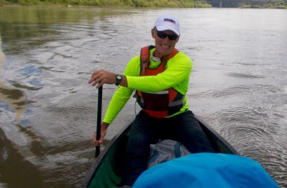 My photographic paddling companion
