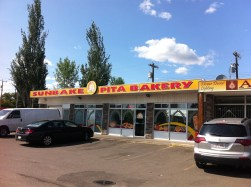 I rarely go to North Edmonton these days, so it was good to stop at Sunbake Pita to buy fresh spinach pies!