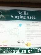 Bellis staging area